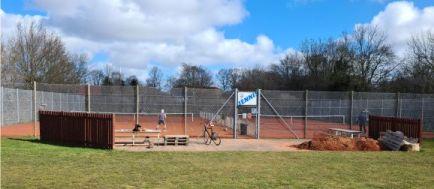 Tennis åbnings dag